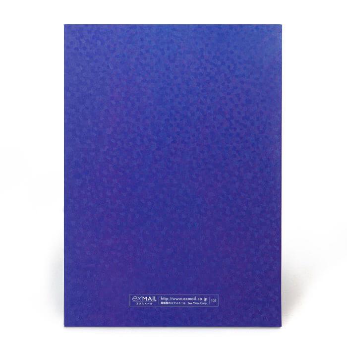 水面がキラキラと輝いているような加工がとてもキレイなカード