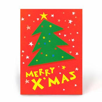祝電・お祝い一般電報「212 クリスマスツリー」サムネイル