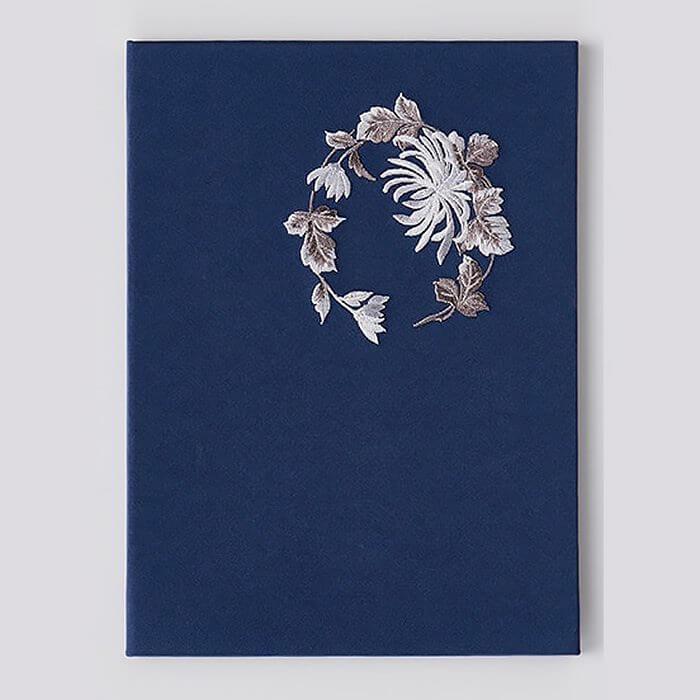 「537 ししゅう 菊」