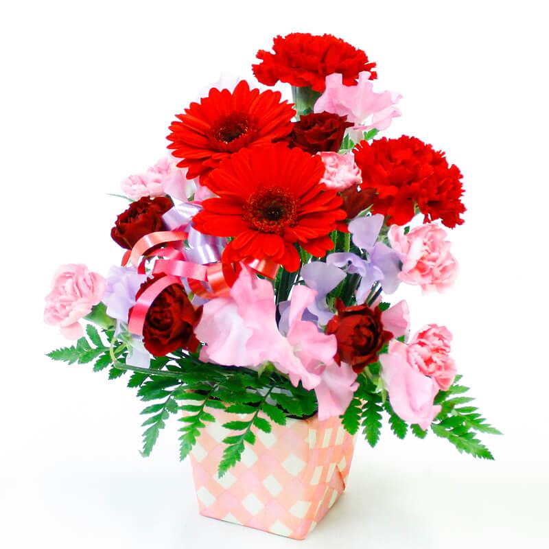 お届け月ごとに花材の種類が変更になります