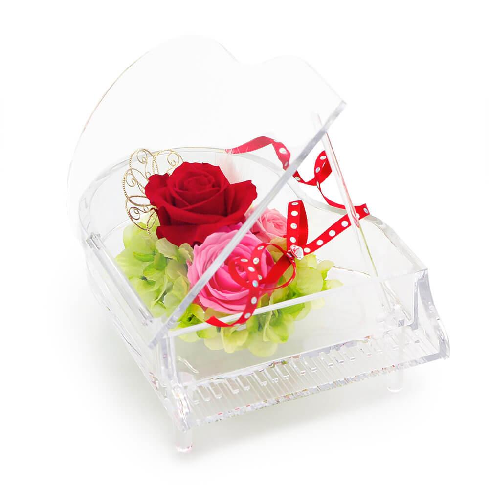 結婚式はもちろん、発表会や演奏会など晴れの舞台の贈り物として人気
