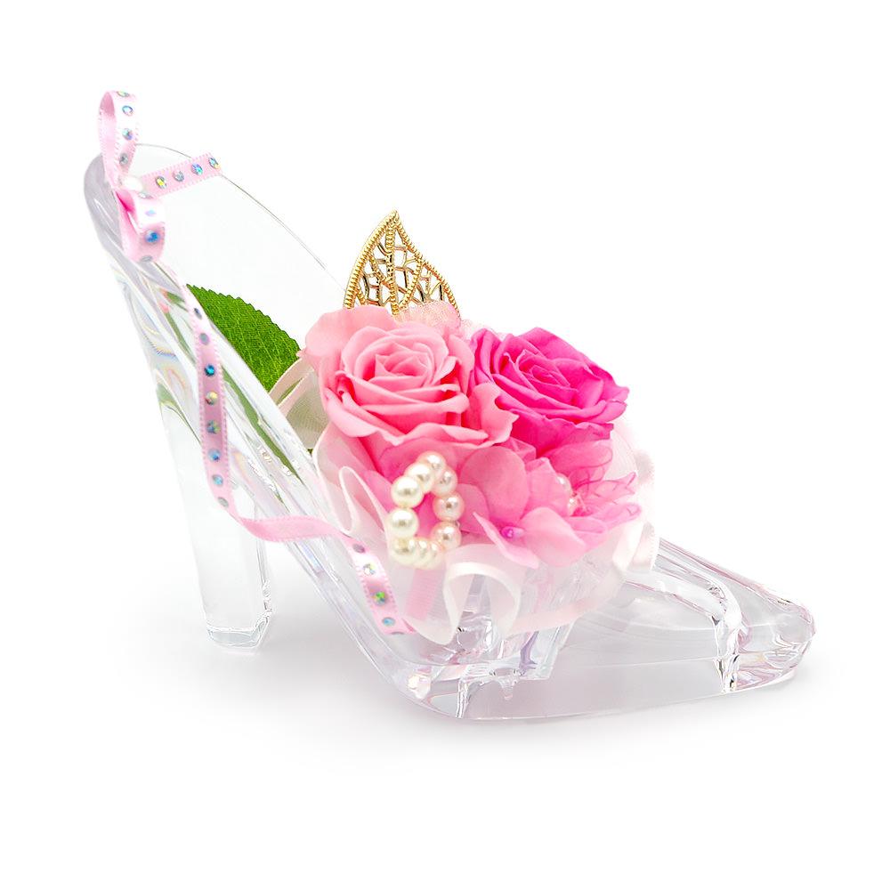 シンデレラのガラスの靴みたいなフォルム