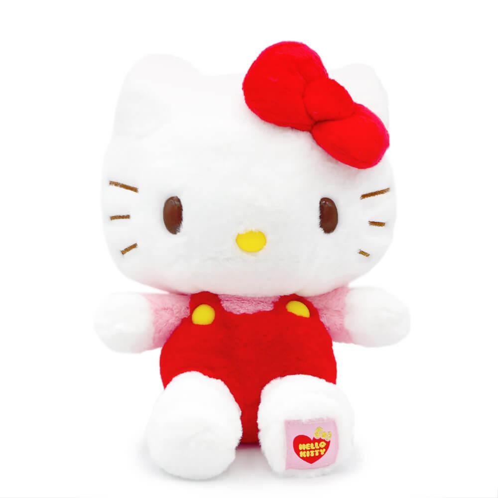 世界中で大人気のキティちゃんのぬいぐるみ