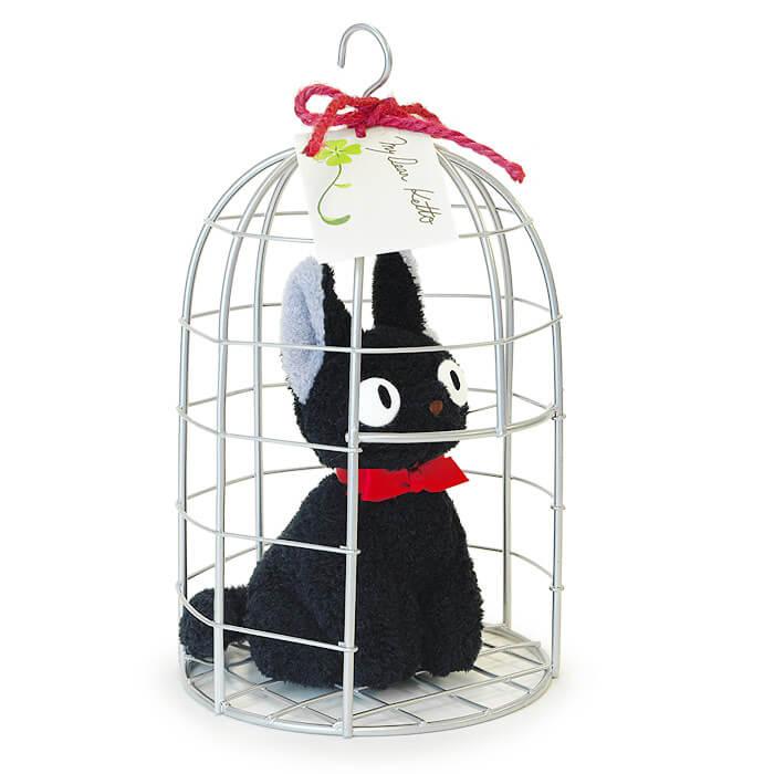 「魔女の宅急便」主人公キキの相棒、黒猫のジジのぬいぐるみ
