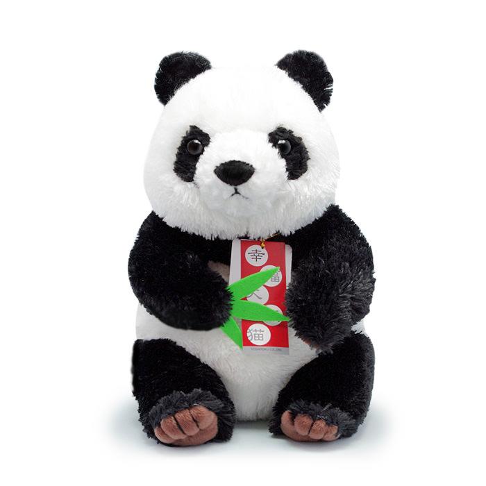 幸福を運ぶハッピーパンダが電報をお届け!