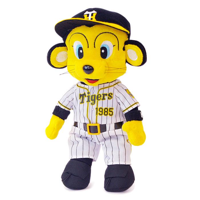 阪神タイガースの看板マスコット、トラッキーのぬいぐるみ