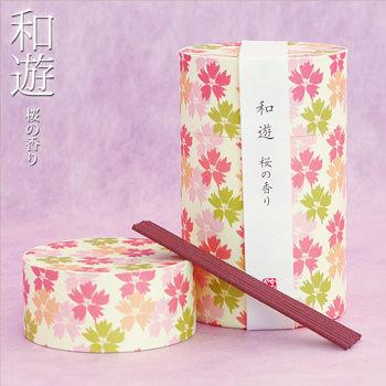 線香「和遊 桜の香り」サムネイル