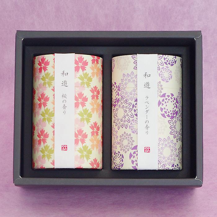 上品で優しい「桜の香り」、爽やかな「ラベンダーの香り」