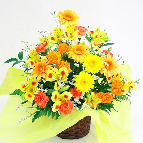 「季節のアレンジ・暖色系」