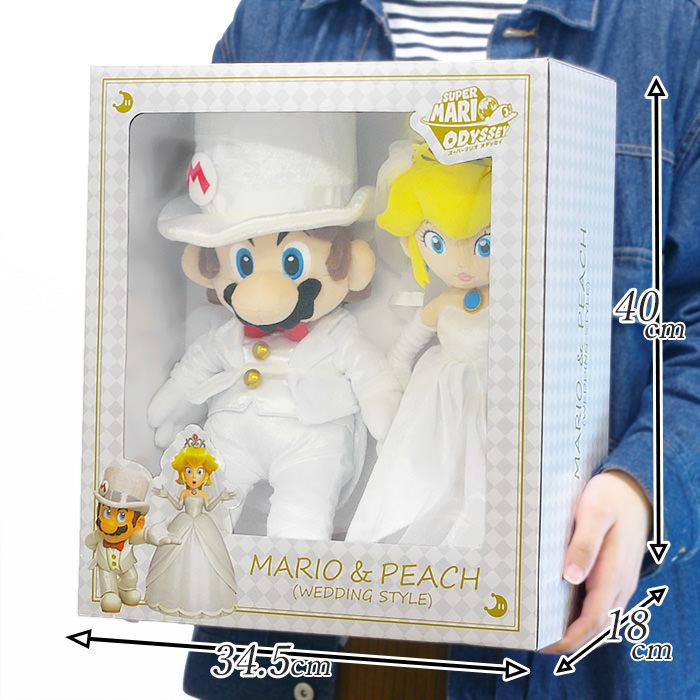 「マリオ&ピーチ ウェディングスタイル」のサイズ