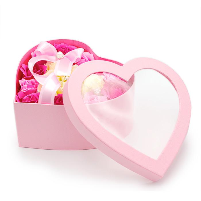 美しいお花と石鹸のほのかな香りが楽しめます