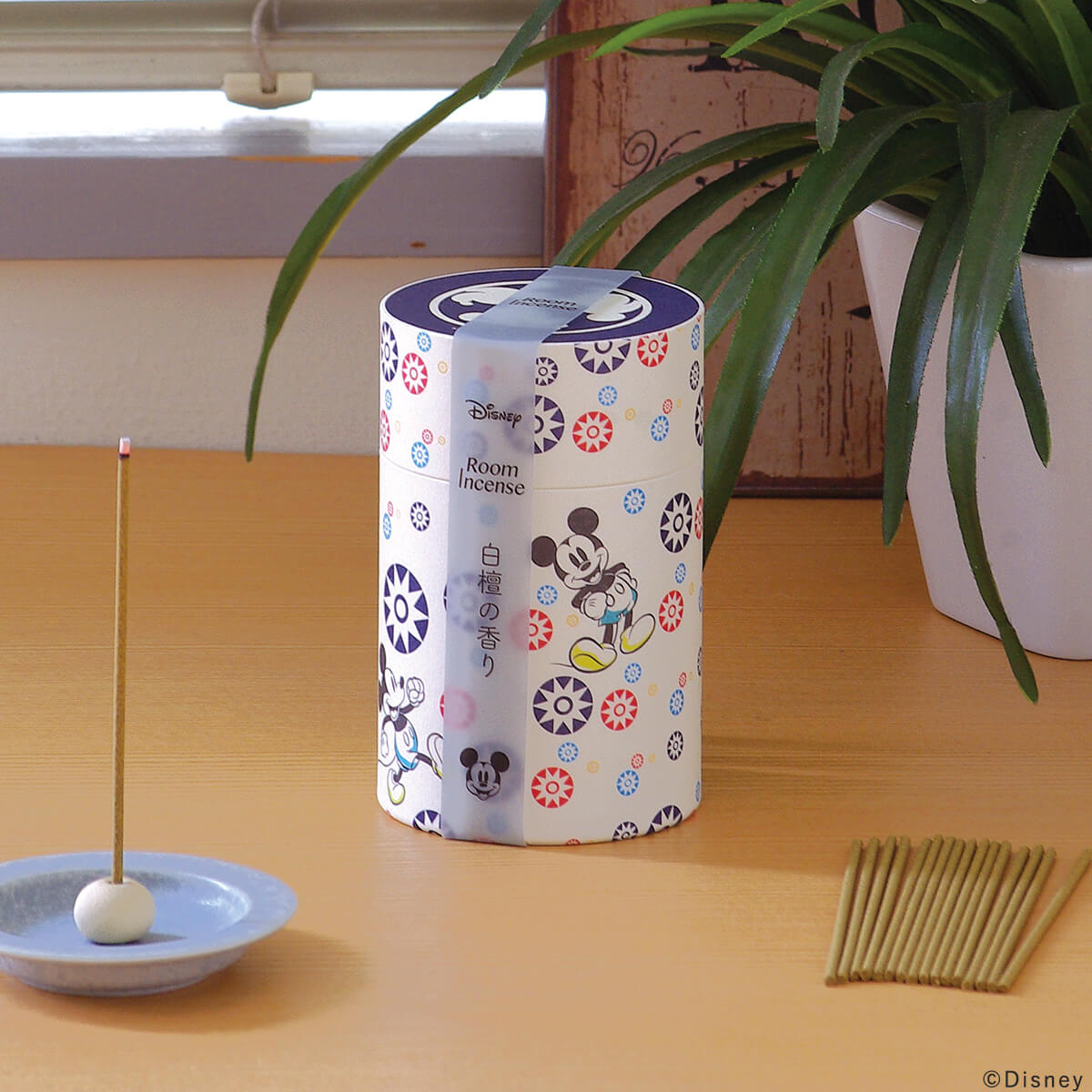 ミッキーマウス 白檀の香りの使用イメージ