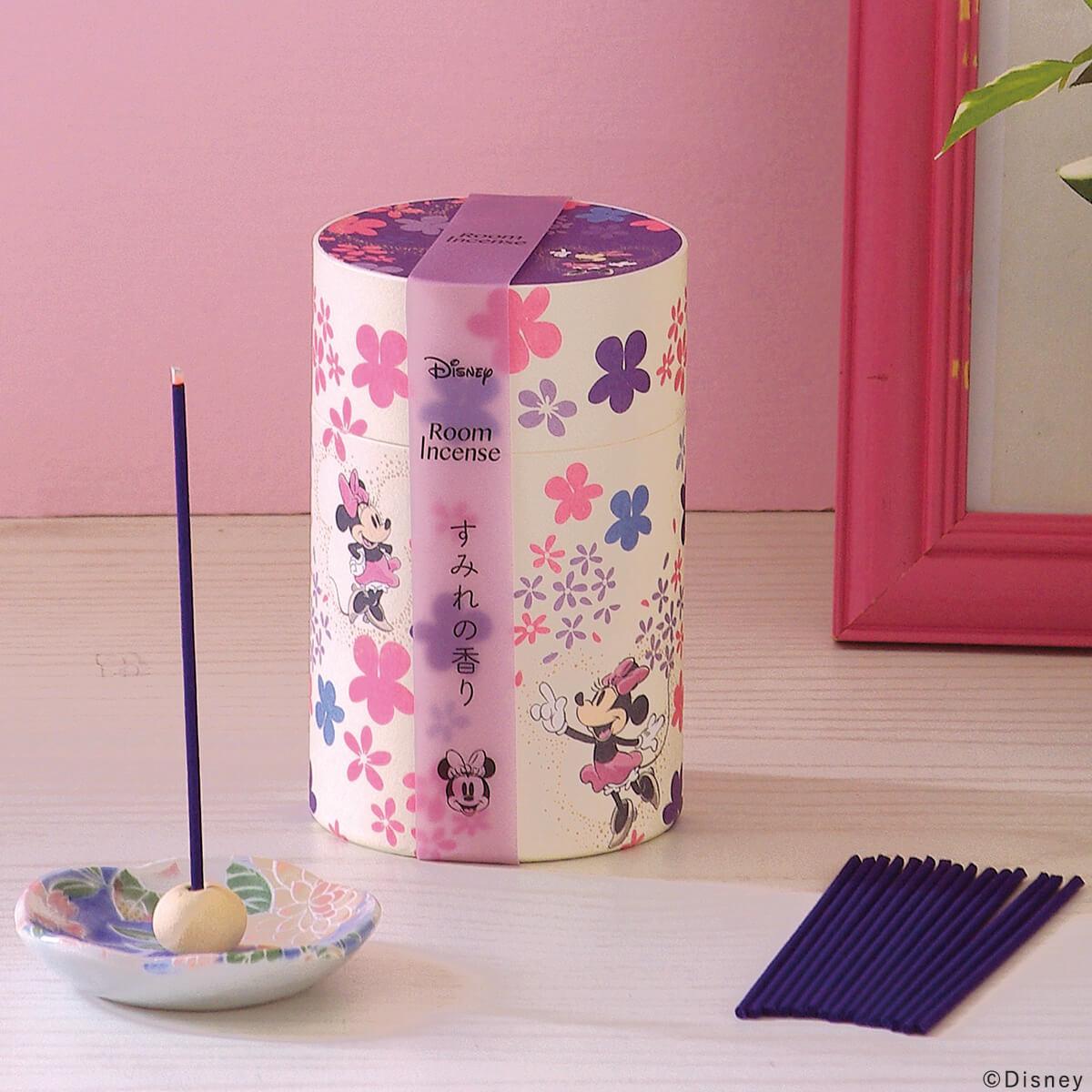 ミニーマウス すみれの香りの使用イメージ