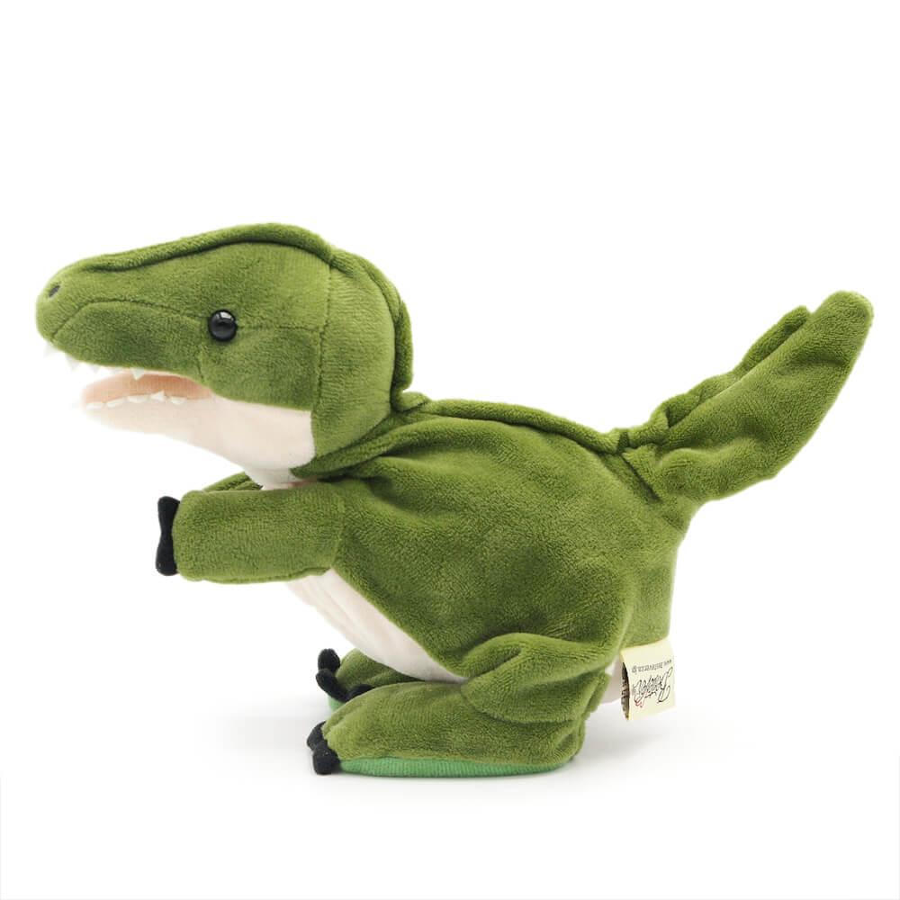 ベイビーダイナソーは、話しかけると体を動かしてモノマネする恐竜のぬいぐるみです