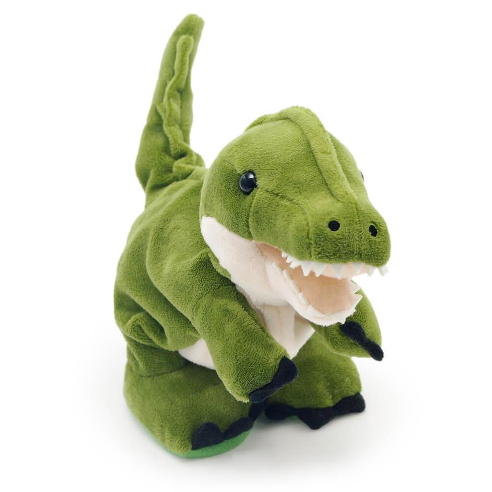 モノマネした後は恐竜らしく「ギャォー」と吠える機能付き